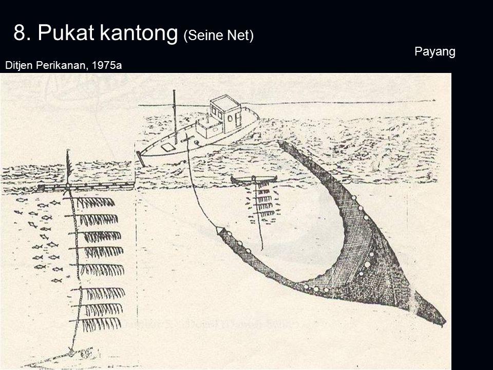 8. Pukat kantong (Seine Net)