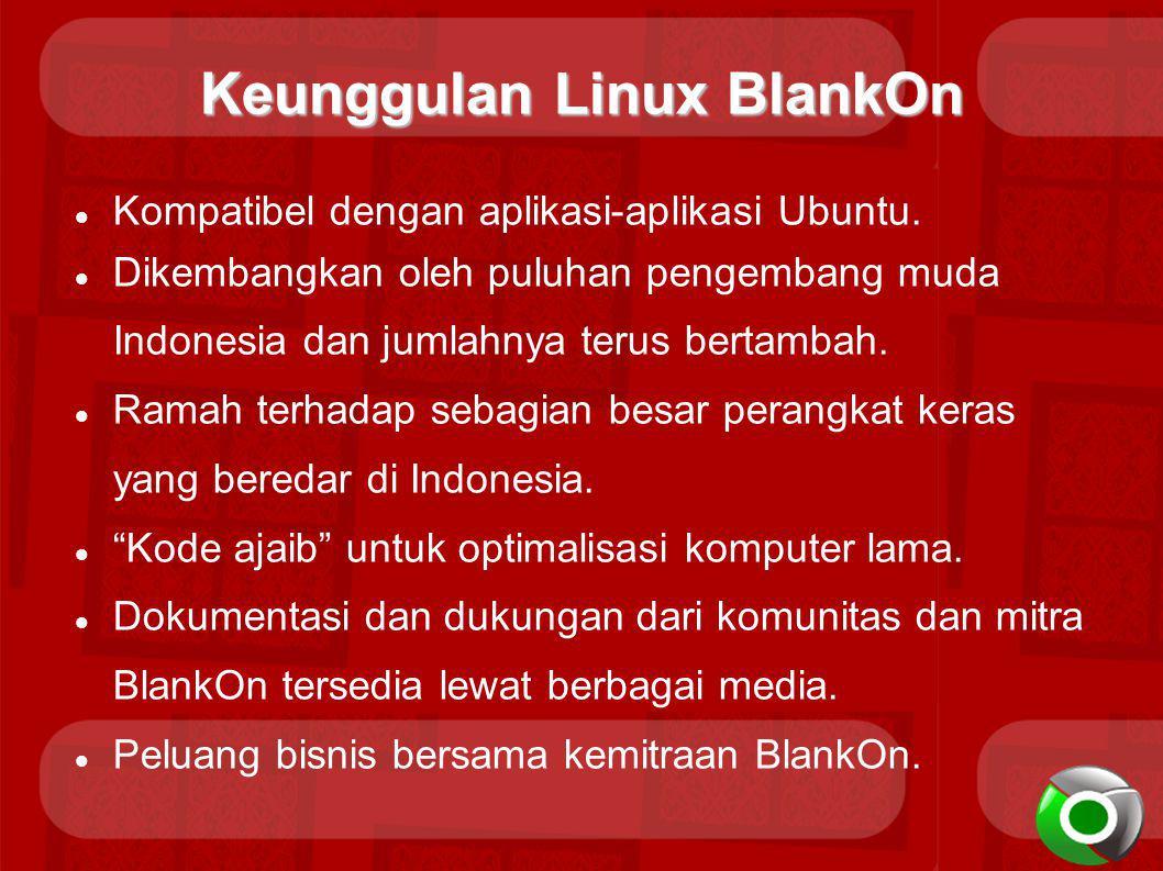 Keunggulan Linux BlankOn