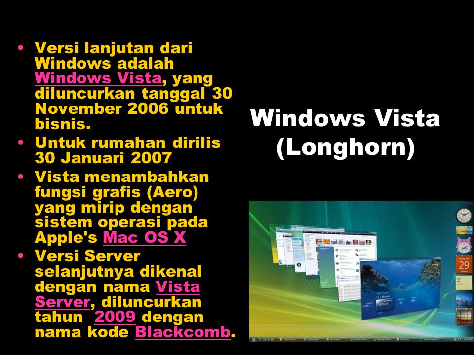 Windows Vista (Longhorn)