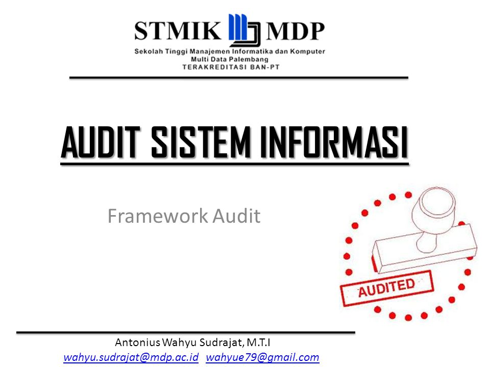 Framework Audit