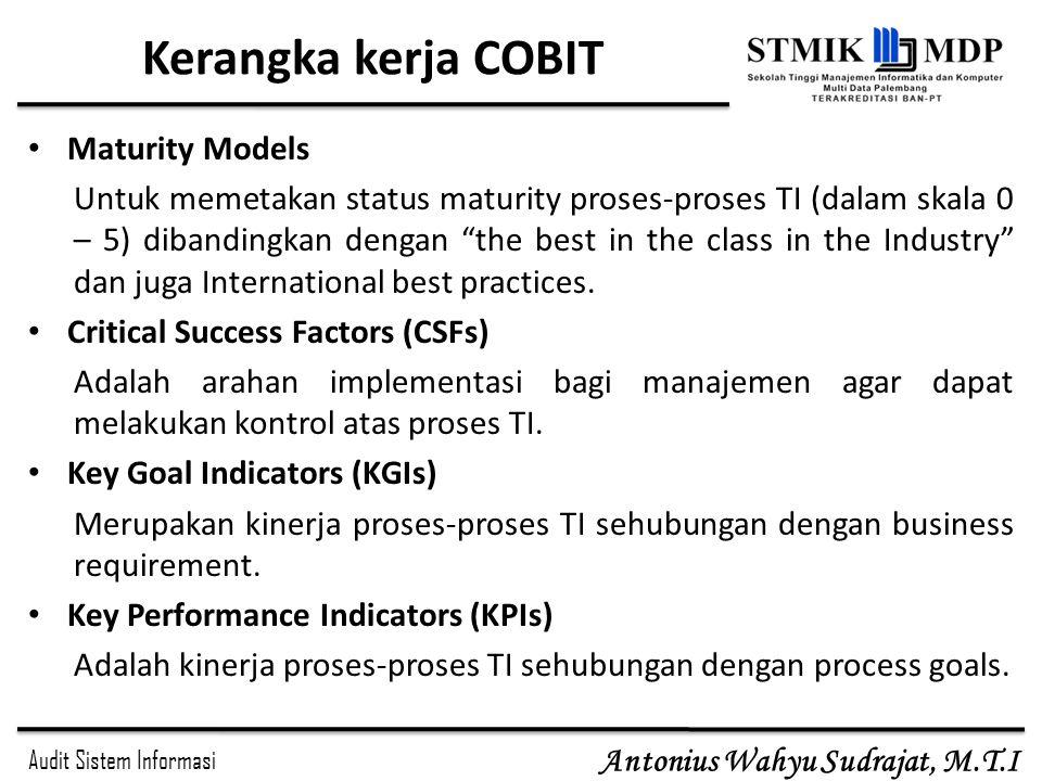 Kerangka kerja COBIT Maturity Models