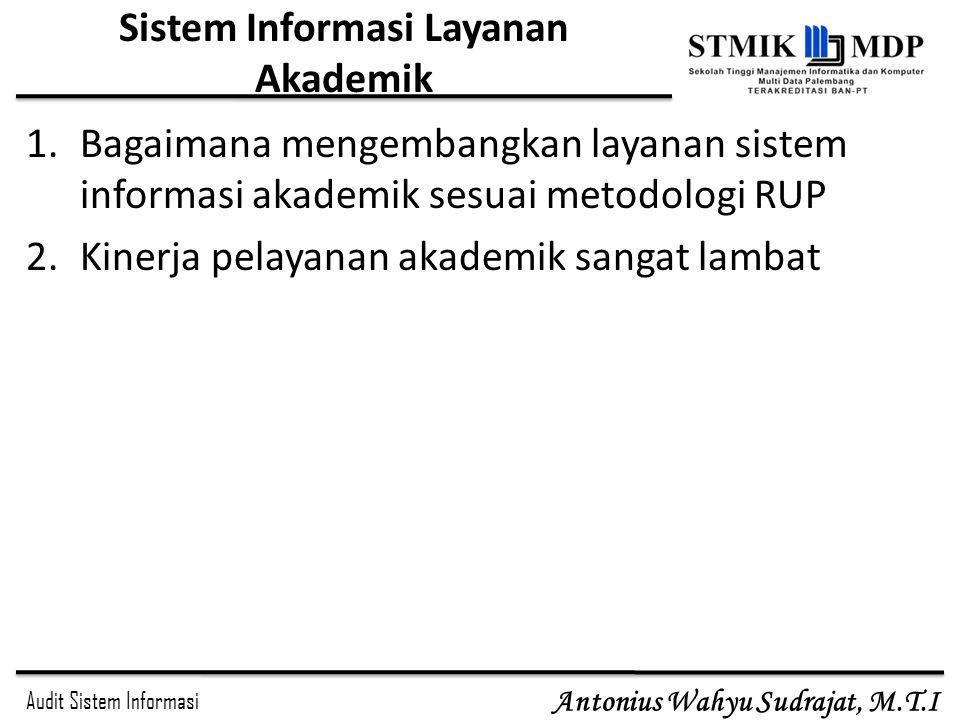 Sistem Informasi Layanan Akademik
