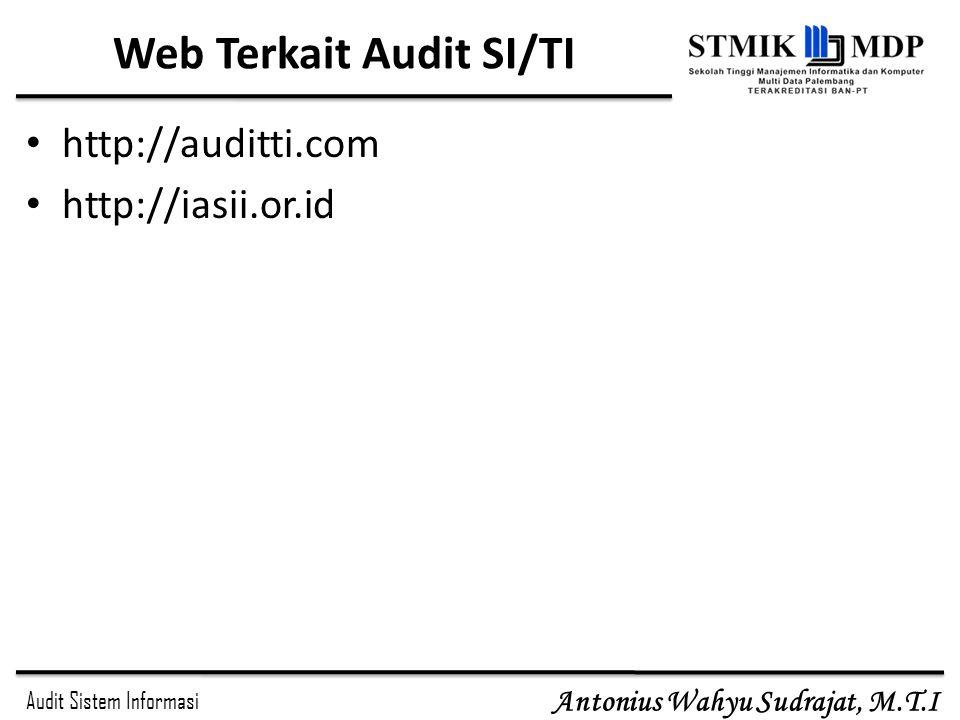 Web Terkait Audit SI/TI