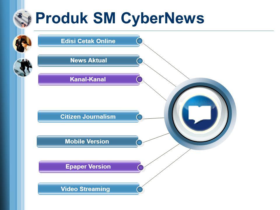 Produk SM CyberNews Edisi Cetak Online News Aktual Kanal-Kanal