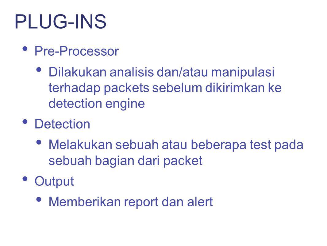 PLUG-INS Pre-Processor