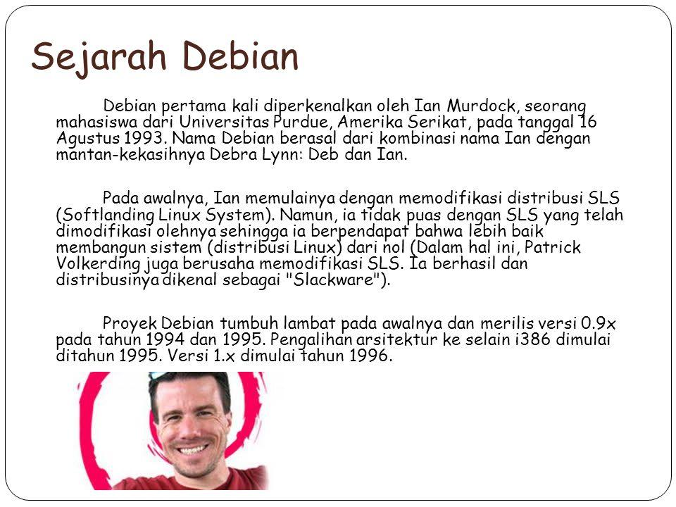 Sejarah Debian