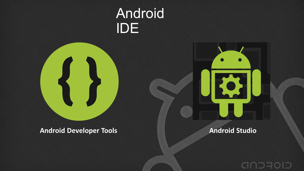 Android IDE Android Developer Tools Android Studio