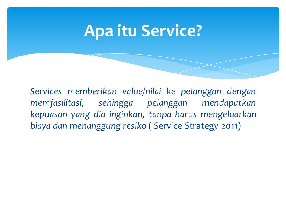 Apa itu Service