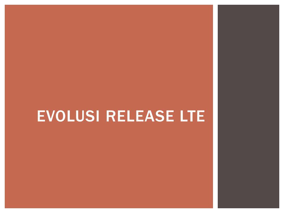 Evolusi Release LTE