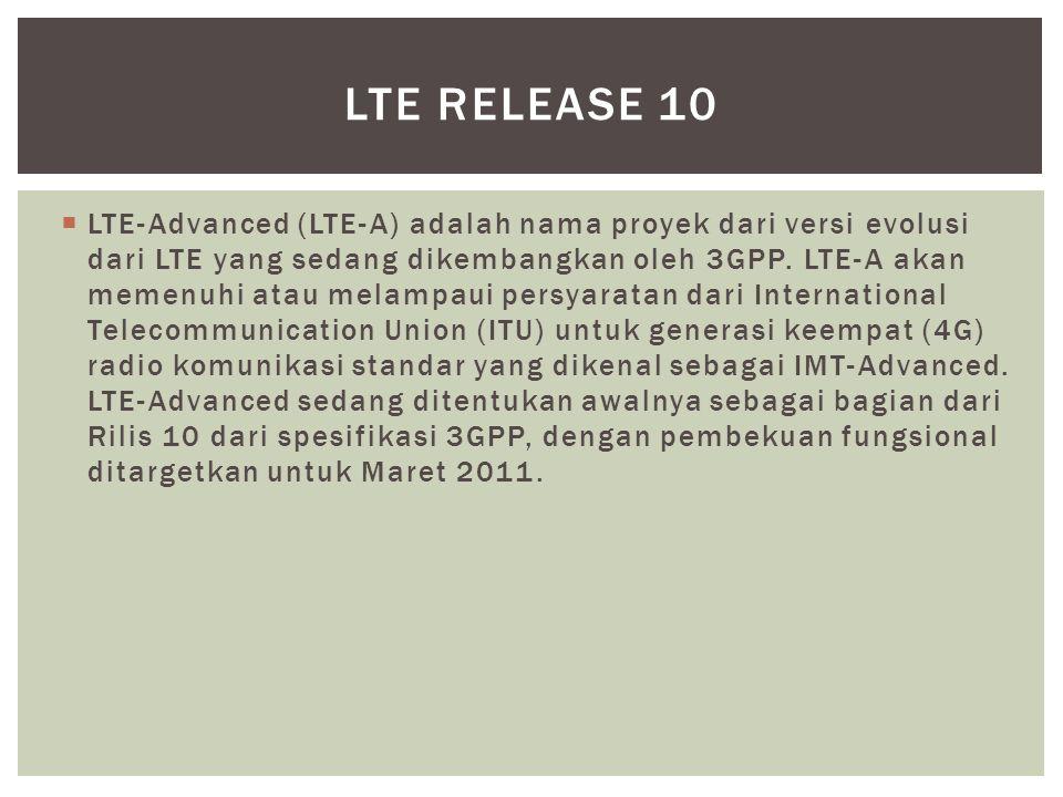 LTE Release 10