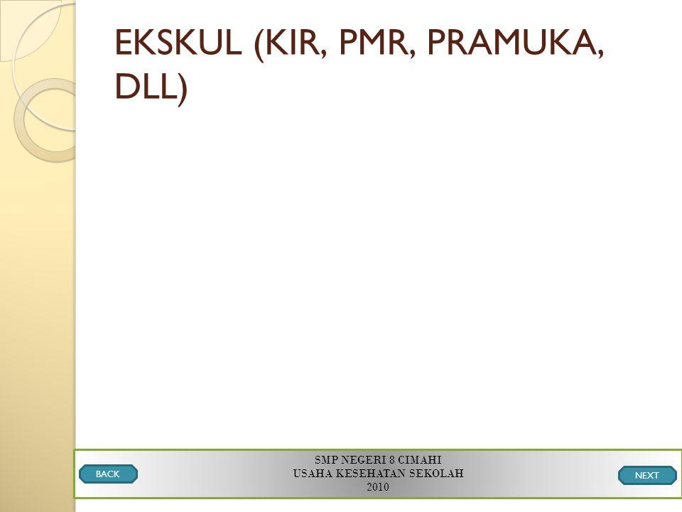 EKSKUL (KIR, PMR, PRAMUKA, DLL)
