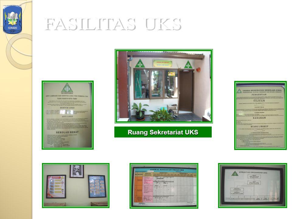 FASILITAS UKS Ruang Sekretariat UKS