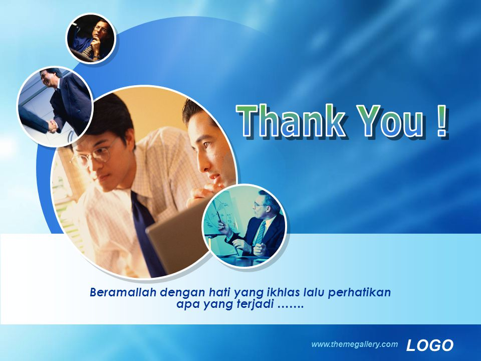 Thank You . Beramallah dengan hati yang ikhlas lalu perhatikan apa yang terjadi …….