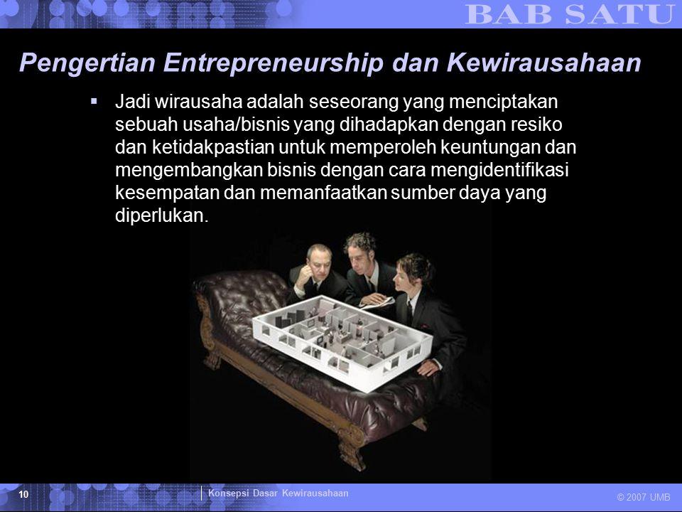 Pengertian Entrepreneurship dan Kewirausahaan