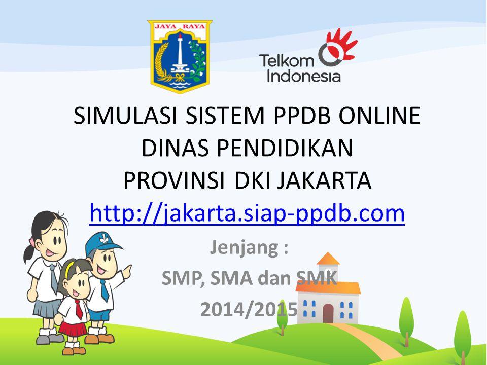 Jenjang : SMP, SMA dan SMK 2014/2015