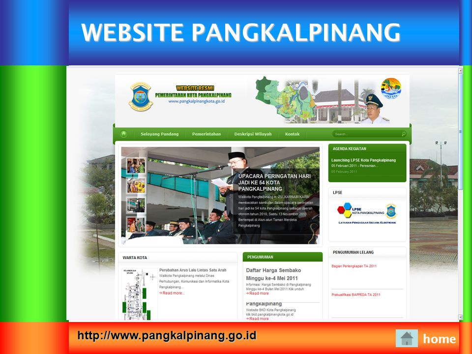 WEBSITE PANGKALPINANG