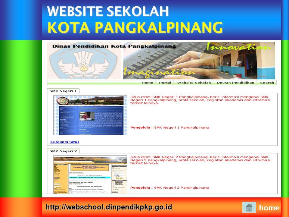 WEBSITE SEKOLAH KOTA PANGKALPINANG
