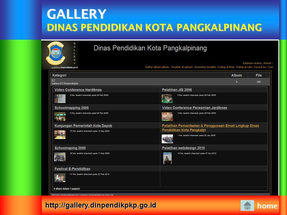 GALLERY DINAS PENDIDIKAN KOTA PANGKALPINANG