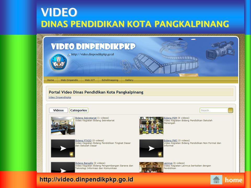 VIDEO DINAS PENDIDIKAN KOTA PANGKALPINANG