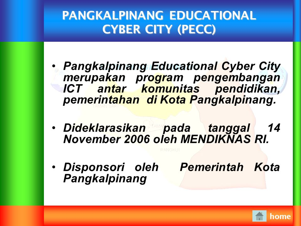 PANGKALPINANG EDUCATIONAL CYBER CITY (PECC)