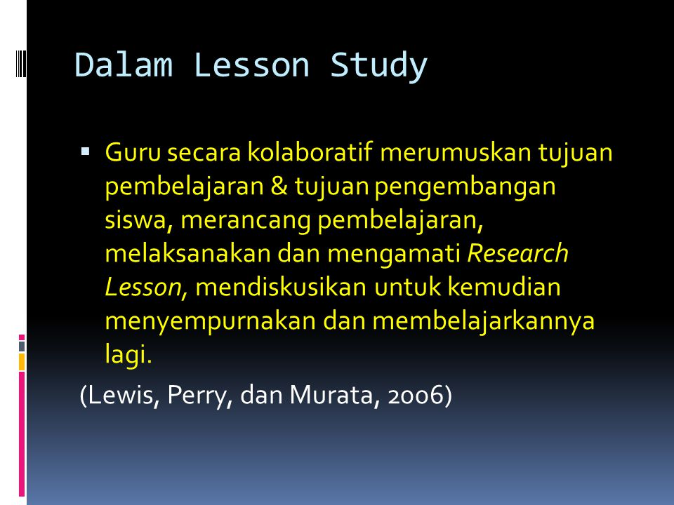 Dalam Lesson Study