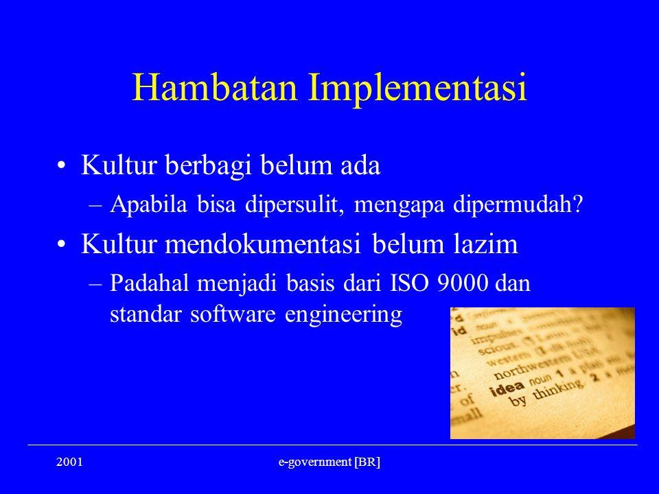 Hambatan Implementasi