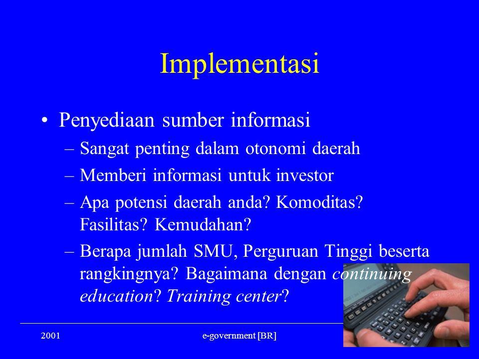 Implementasi Penyediaan sumber informasi
