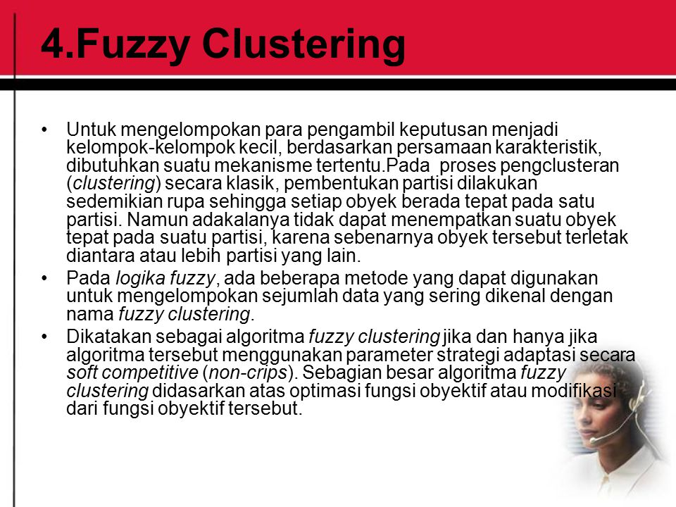4.Fuzzy Clustering