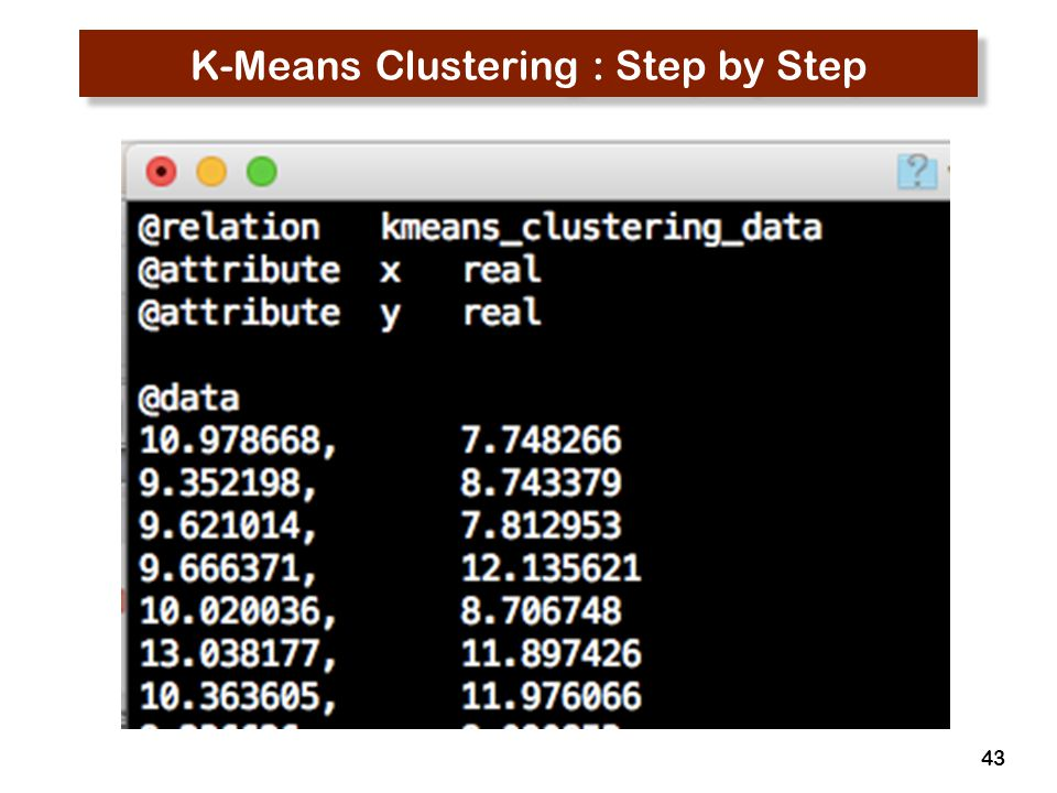 K-Means Clustering : Step by Step