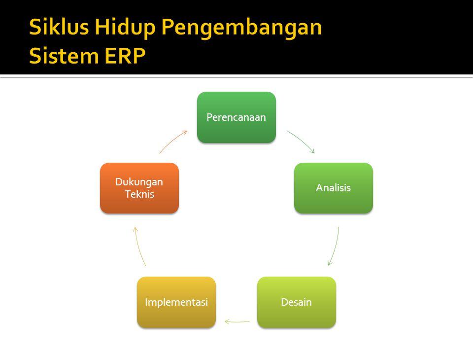 Siklus Hidup Pengembangan Sistem ERP