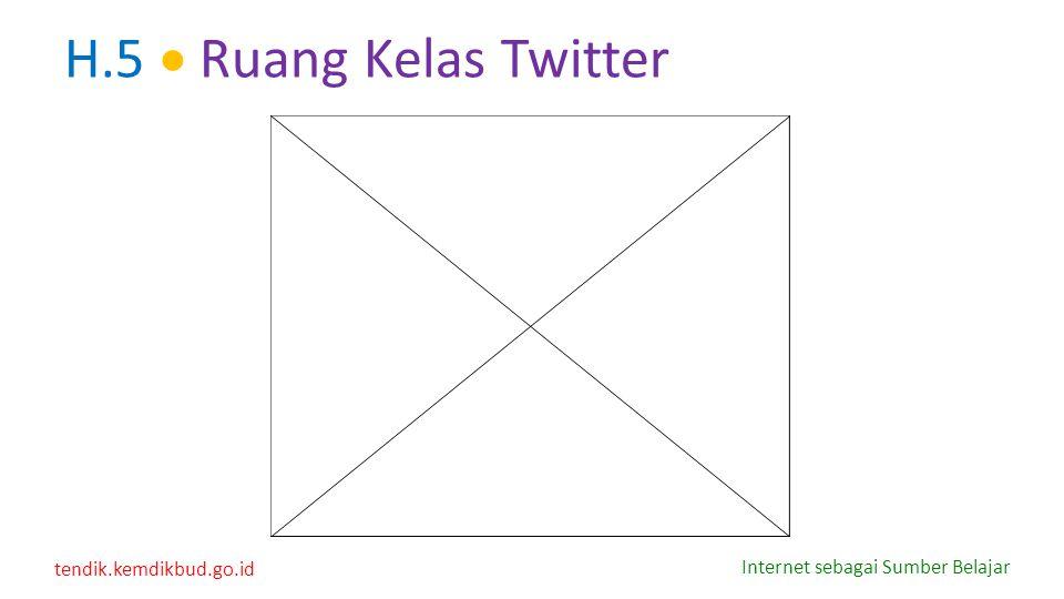 H.5  Ruang Kelas Twitter