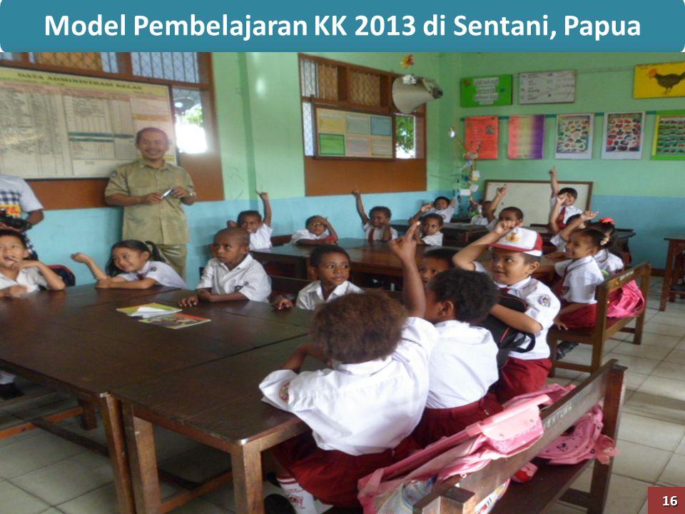 Model Pembelajaran KK 2013 di Sentani, Papua
