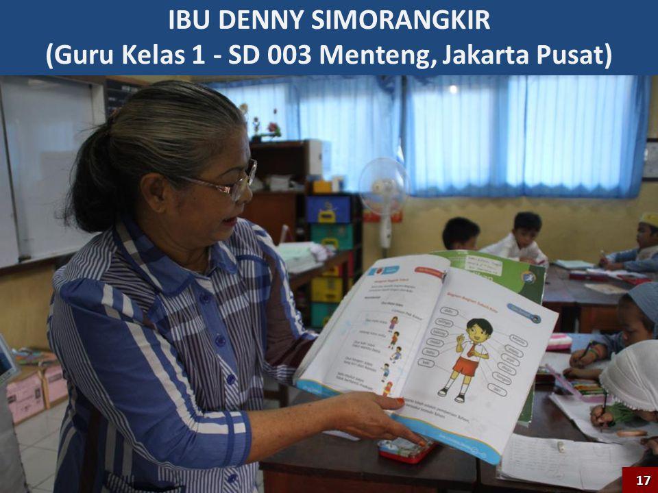 (Guru Kelas 1 - SD 003 Menteng, Jakarta Pusat)