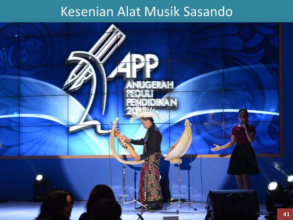 Kesenian Alat Musik Sasando