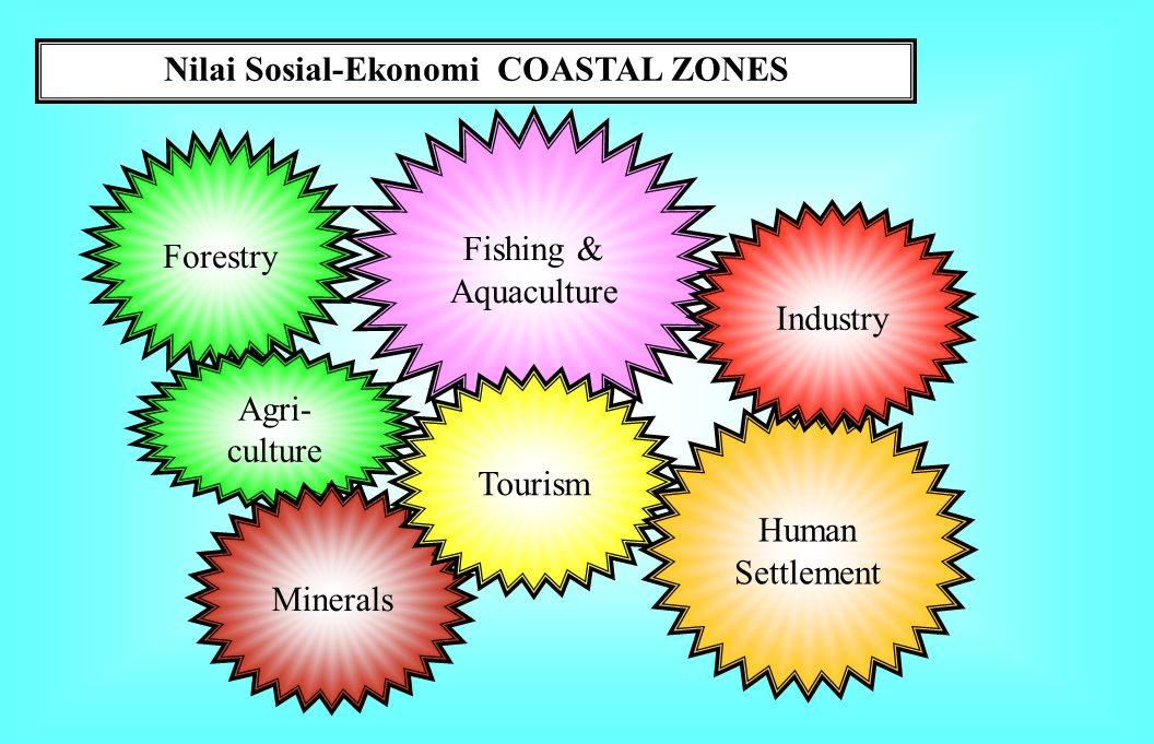 Nilai Sosial-Ekonomi COASTAL ZONES