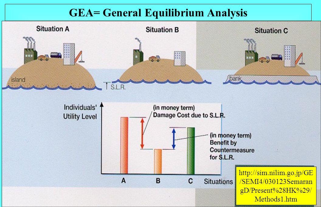 GEA= General Equilibrium Analysis