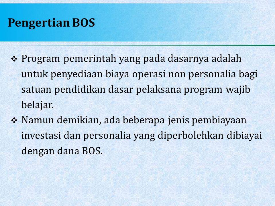 Pengertian BOS