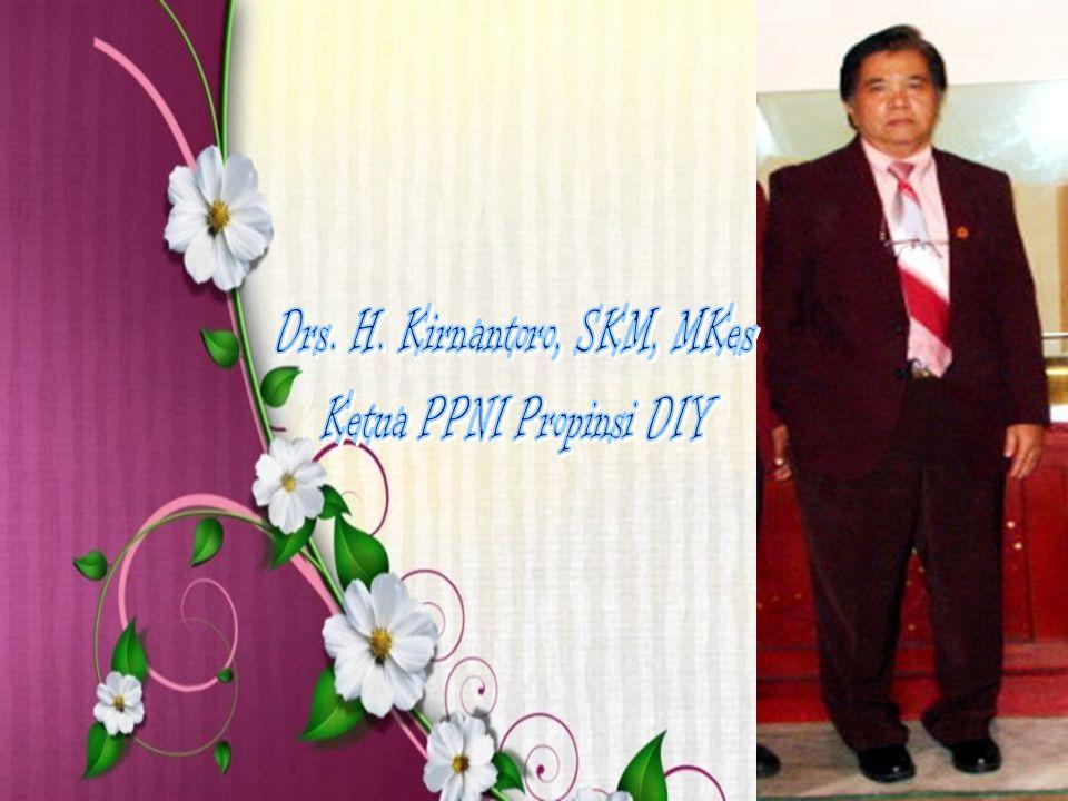 Drs. H. Kirnantoro, SKM, MKes Ketua PPNI Propinsi DIY