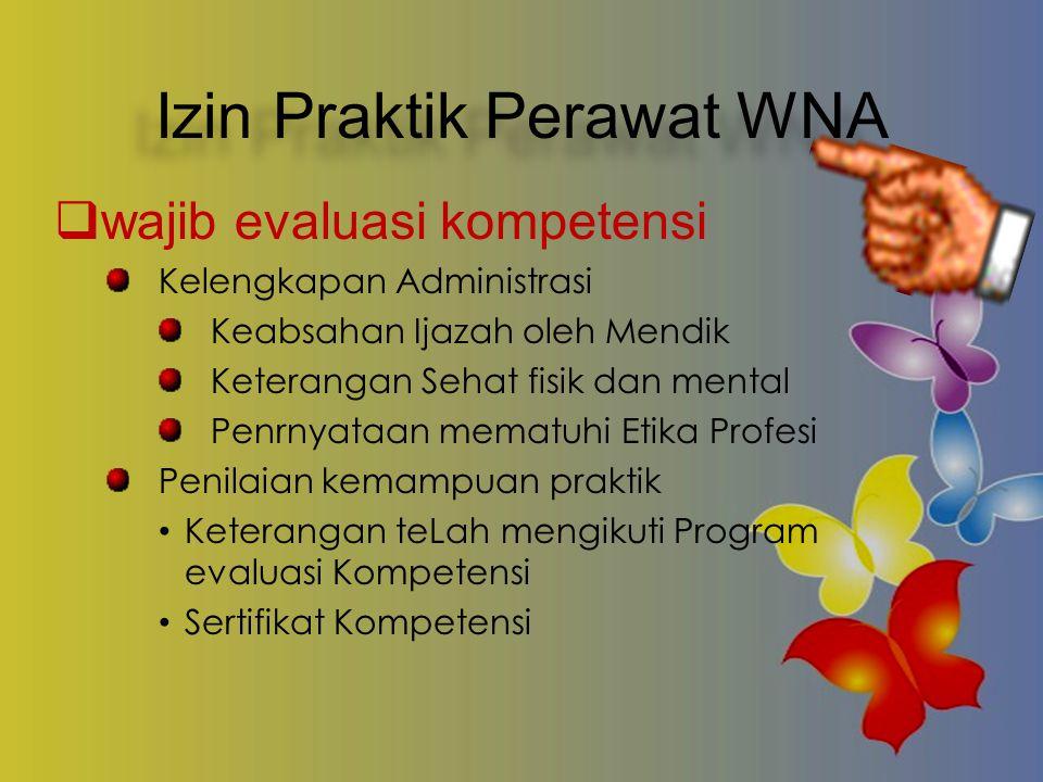 Izin Praktik Perawat WNA