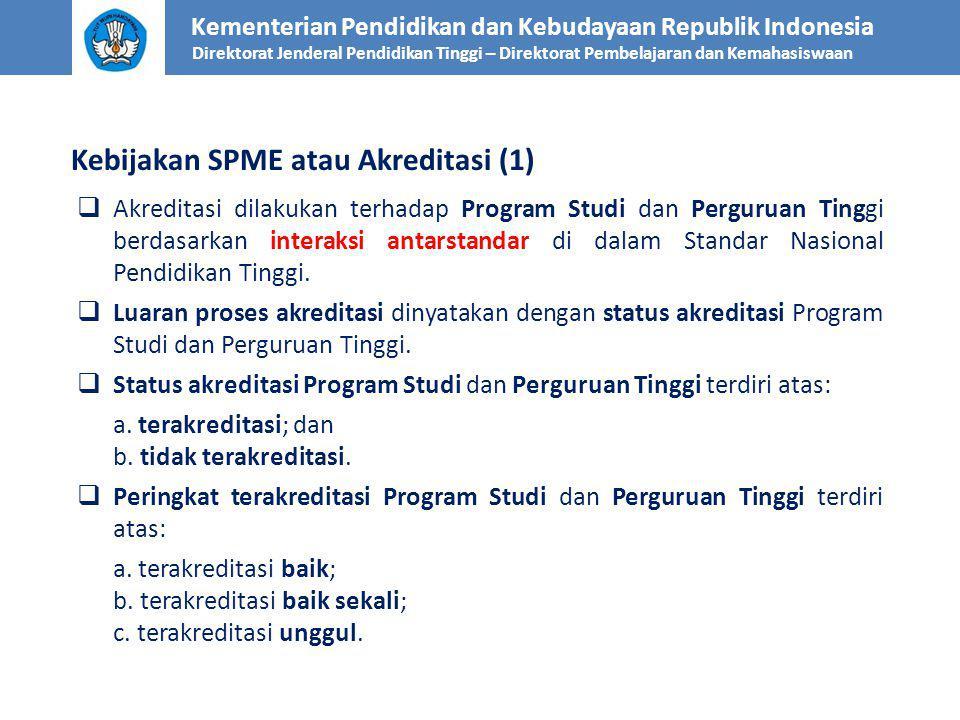Kebijakan SPME atau Akreditasi (1)