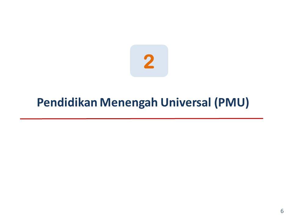 2 Pendidikan Menengah Universal (PMU)