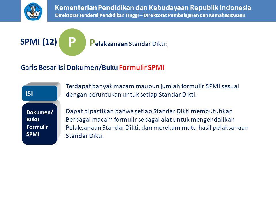P Pelaksanaan Standar Dikti; SPMI (12)