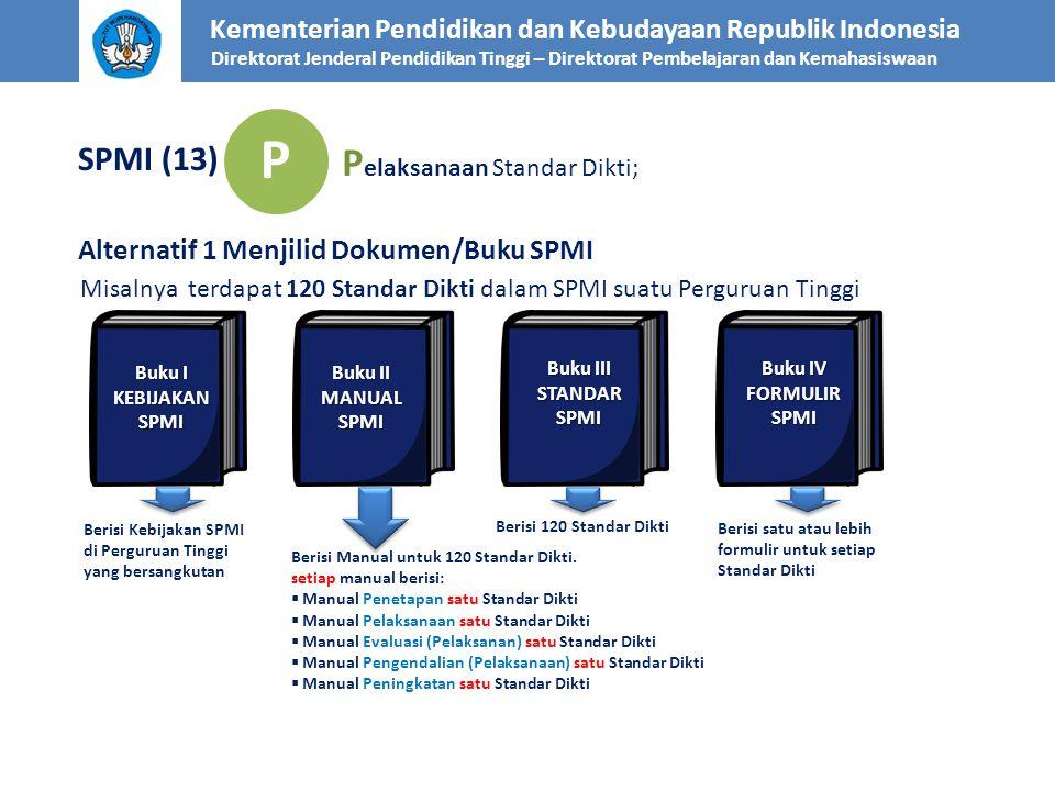P Pelaksanaan Standar Dikti; SPMI (13)