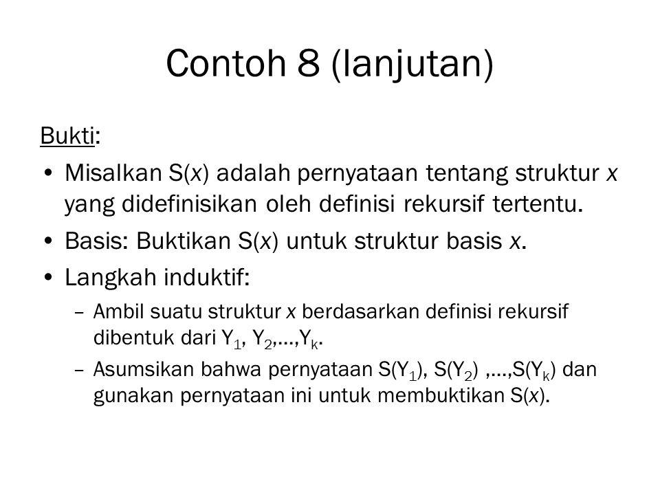 Contoh 8 (lanjutan) Bukti: