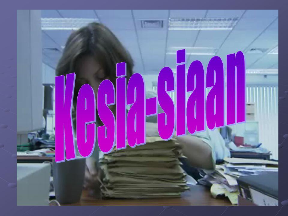 Video Clip Kesia-siaan