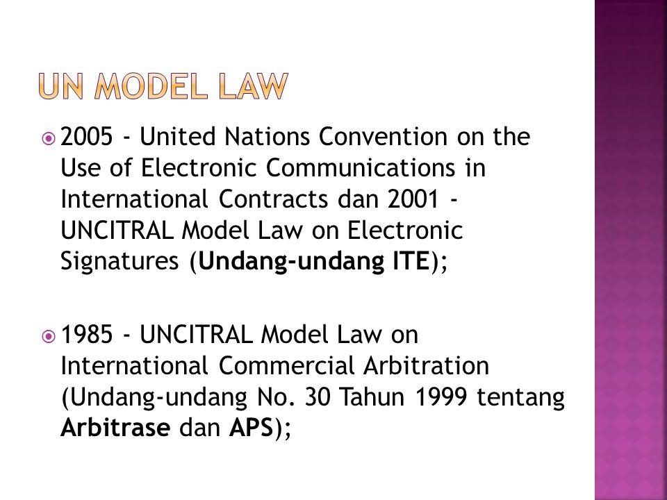 UN Model Law