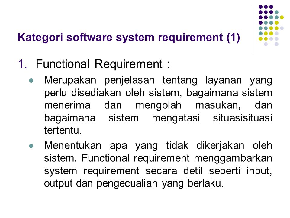 Kategori software system requirement (1)