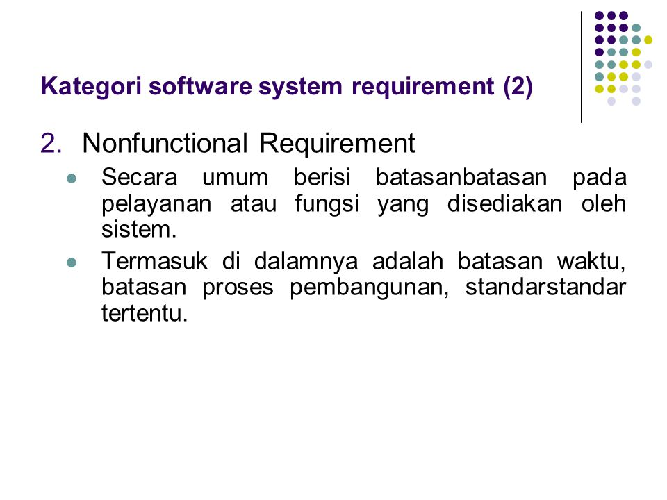 Kategori software system requirement (2)