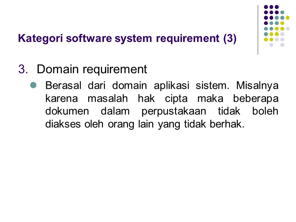 Kategori software system requirement (3)