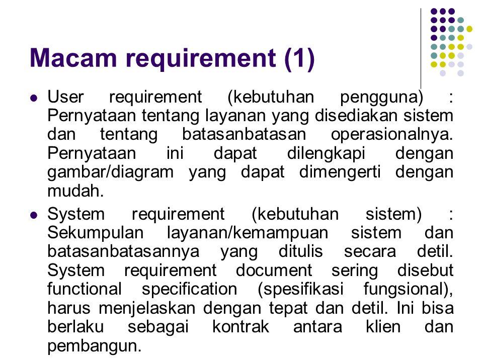 Macam requirement (1)